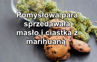 ciastka z marihuany